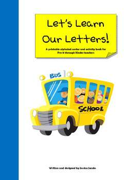 Let's Learn our Letter's Book