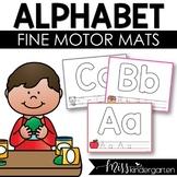 Fine Motor Activities Alphabet Play Dough Mats