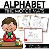 Alphabet Play-dough Mats