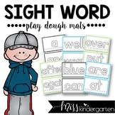 Sight Words Playdough Mats