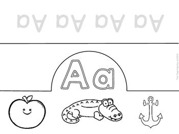 Let's Learn the Alphabet!  ABC Crowns!