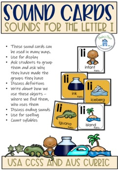 Phonics - Let's Look at the Letter and Sounds for  'Ii'