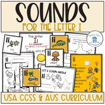 Phonics Let's Look at the Letter and Sounds for Ii