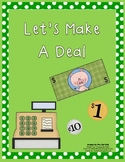 Let's Make A Deal- Unit Rate Activity