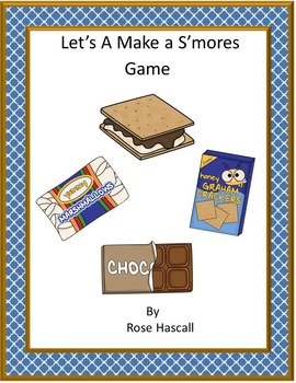 Games Let's Make A S'more Games for Learning Preschool Kindergarten Special Ed