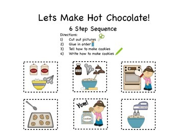 Lets Make Cookies! 3-4-6 Step Sequences
