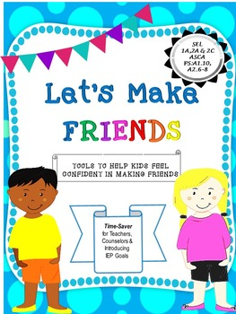 Let's Make Friends Activity Packet
