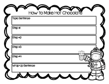 Let's Make Hot Chocolate! {An Expository Writing Piece}