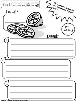 Let's Make Lemonade - Writing Process Organization Draft Book