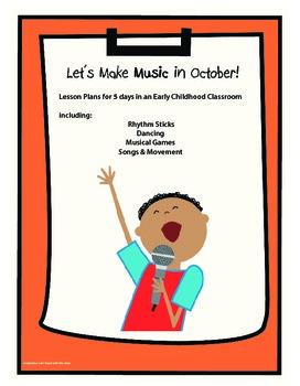 Let's Make Music in October!
