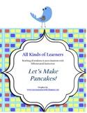 Let's Make Pancakes Activity Set