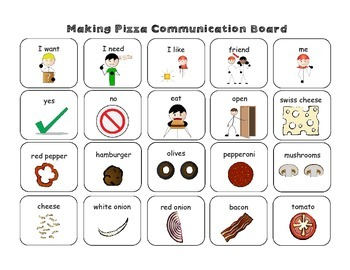 Let's Make Pizza! Recipe, Sequencing, Fractions, & Visuals