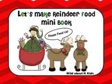 Let's Make Reindeer Food Mini Book