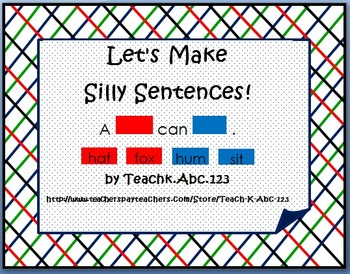 Let's Make Silly Sentences