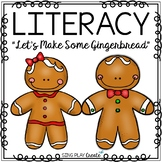"Gingerbread Poem and Literacy Activities: ""Let's Make Some"