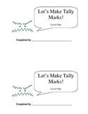 Let's Make Tally Marks: Level 1