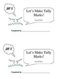 Let's Make Tally Marks: Level 2