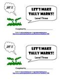 Let's Make Tally Marks: Level Three