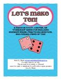 Let's Make Ten! {Math activity for building number sense &