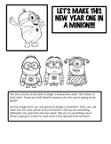 Let's Make This New Year One-In-A-Minion!  Happy New Year's!