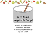 Let's Make Vegetable Soup Preschool Garden Theme Language Activity