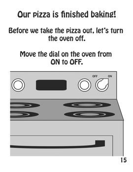 Let's Make a Pizza! (Interactive Book)