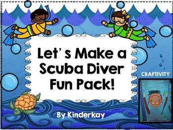 Lets Make a Scuba Diver Fun Pack!