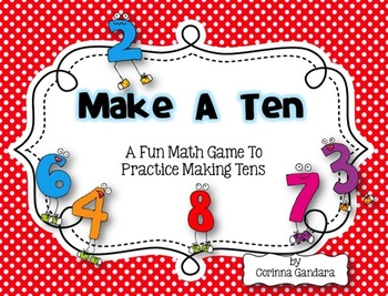 Let's Make a Ten Math Game For Number Sense