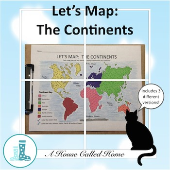 Let's Map: The Continents