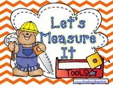 Let's Measure It - A Kindergarten Measurement Unit