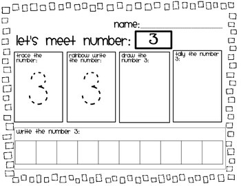 Let's Meet Numbers 1-10!