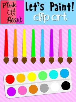 Lets Paint Clip Art