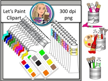 Let's Paint Clipart