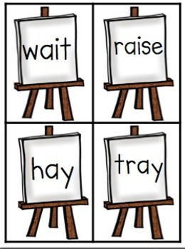 Let's Paint! Literacy Activities for /ai/ and /ay/