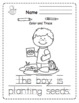 Let's Plant Seeds Printable