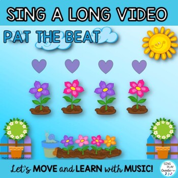 """Orff Game Song: """"Let's Plant a Garden"""" Kodaly, Orff , Science, Music Activities"""