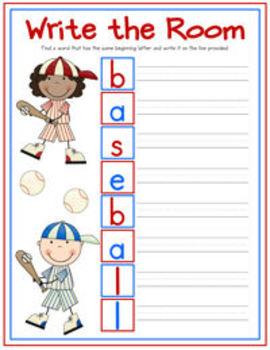 Let's Play Baseball! {Common Core aligned lessons, games, and centers}
