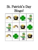 Let's Play Bingo! - St. Patrick's Day Theme