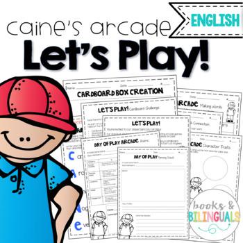 Let's Play! Caine's Arcade Mini-Unit {English}