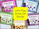 Let's Play Dress-up: Seasons Bundle- Adapted Books for Students with Autism