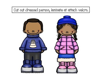 Let's Play Dress-up: Winter Edition- Adapted Book for Students with Autism