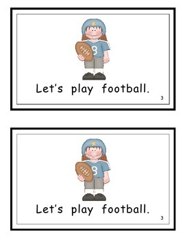 Let's Play Guided Reader (Initial blend Pl)
