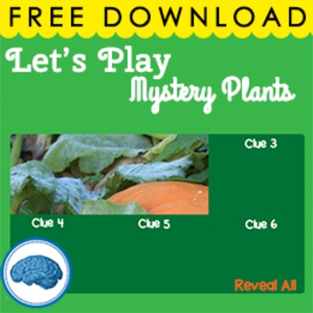 Plants - Interactive PowerPoint Game