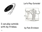 Let's Play Outside!- a health guided reading book