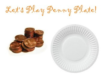 Let's Play Penny Plate (ELL and Spanish included)