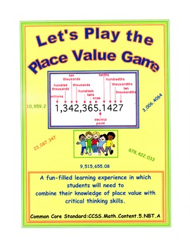Let's Play the Place Value Game