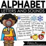 Alphabet Letters and Sounds   Monthly Alphabet Practice Poems