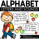Alphabet Sounds and Letter Recognition FREEBIE: Uppercase and Lowercase Included