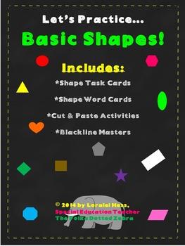 Let's Practice Basic Shapes!