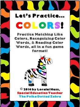 Let's Practice Colors!